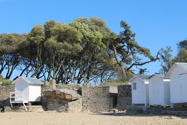 Cabanes-de-plage-Noirmoutier