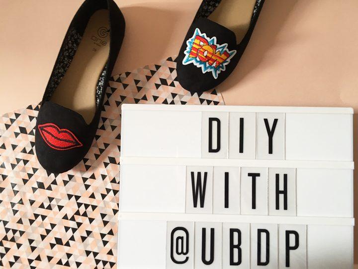 DIY customiser ses chaussures avec des patchs